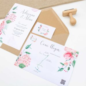 Invitaciones de boda Anatolia Zaragoza