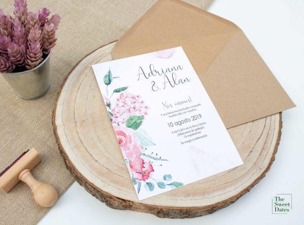 Invitación boda Anatolia - The Sweet Dates