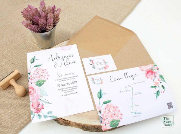 Invitaciones de boda Anatolia