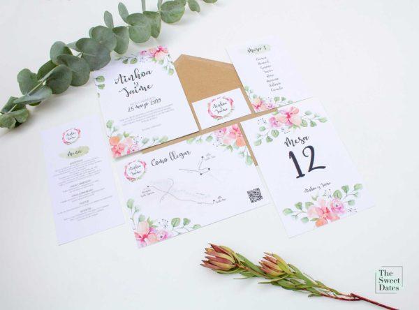 Invitación boda Verísima - The Sweet Dates