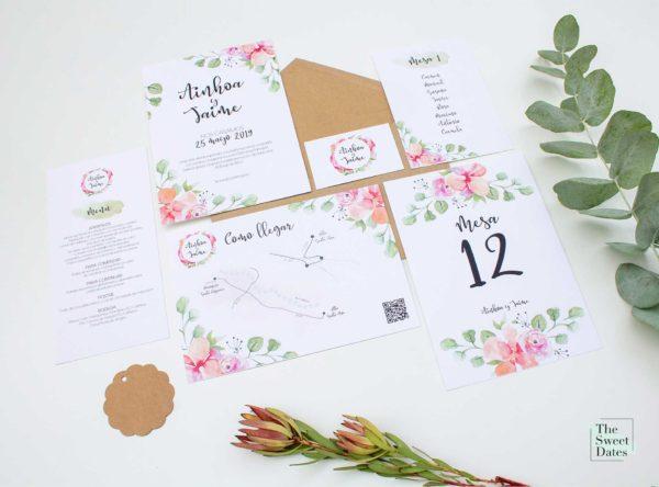 Papelería boda Verísima - The Sweet Dates