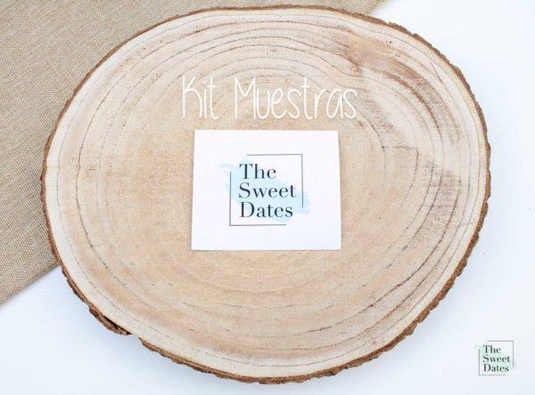Kit Muestras The Sweet Dates invitaciones boda