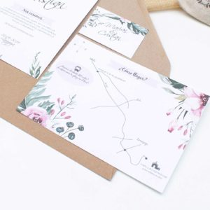 Mapa boda Valeria - The Sweet Dates