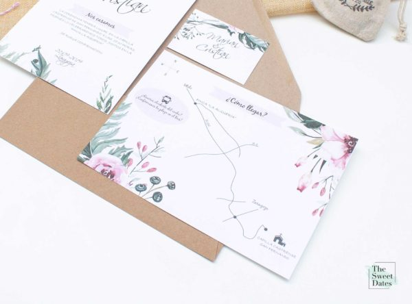 Mapa boda Valeria - The Sweet Dates