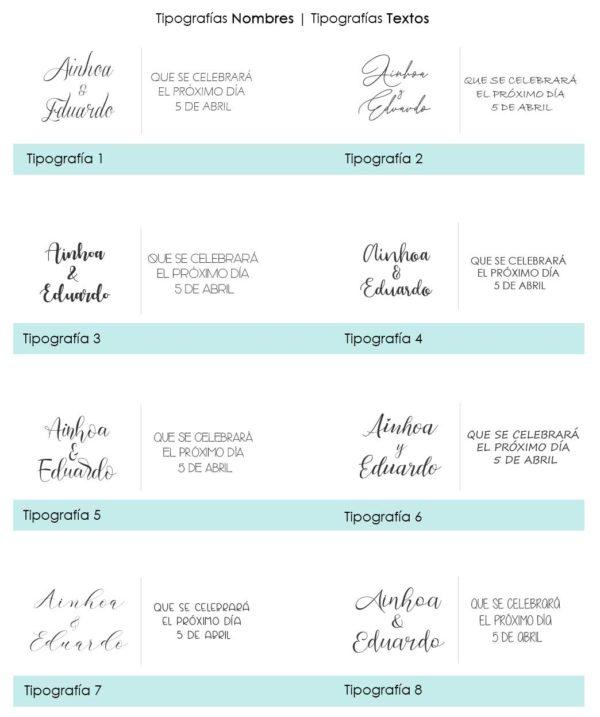Tipografias Allamanda