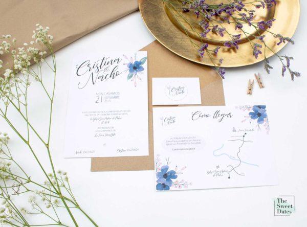 Papelería boda Liberata - The Sweet Dates
