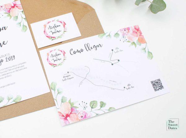 Mapa boda Verísima - The Sweet Dates
