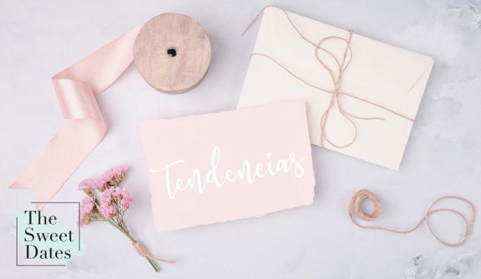 Invitaciones de boda Tendencias para este 2020 - The Sweet Dates