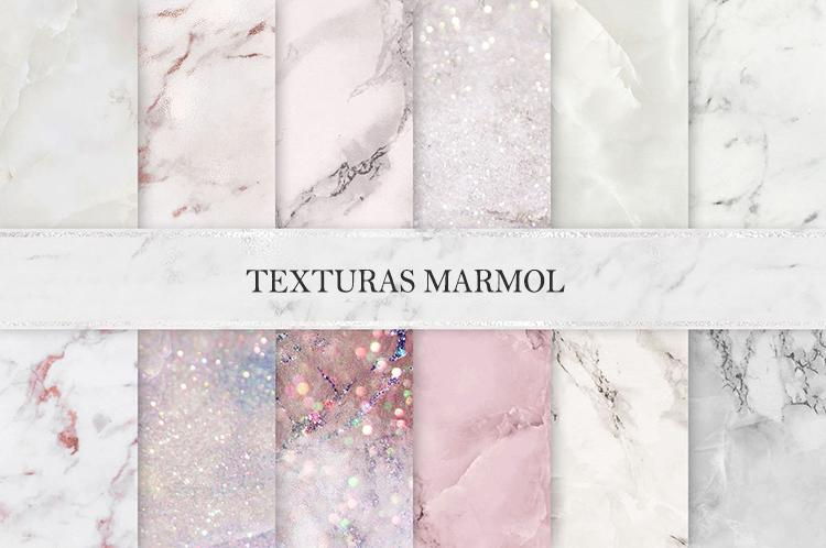 Texturas marmol invitaciones de boda