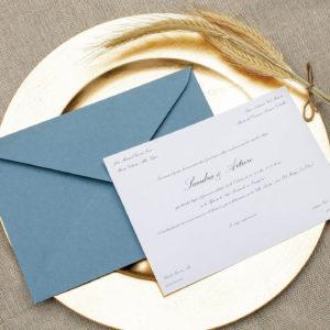 Invitación de boda tradicional Clásica - The Sweet Dates Zaragoza