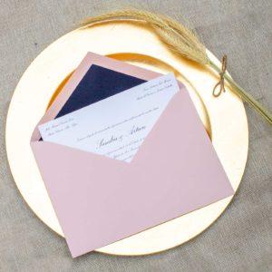 Invitaciones boda tradicional personalizada - The Sweet Dates Zaragoza