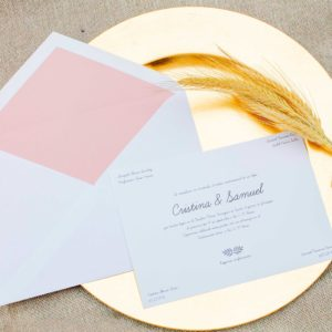 Invitación boda Clásica Londrés
