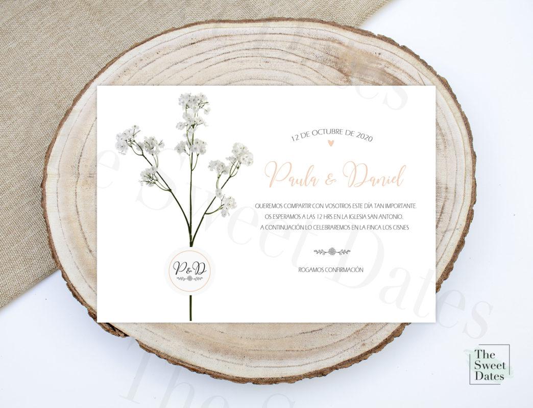 Invitación boda protocolo a seguir textos boda formal - The Sweet Dates