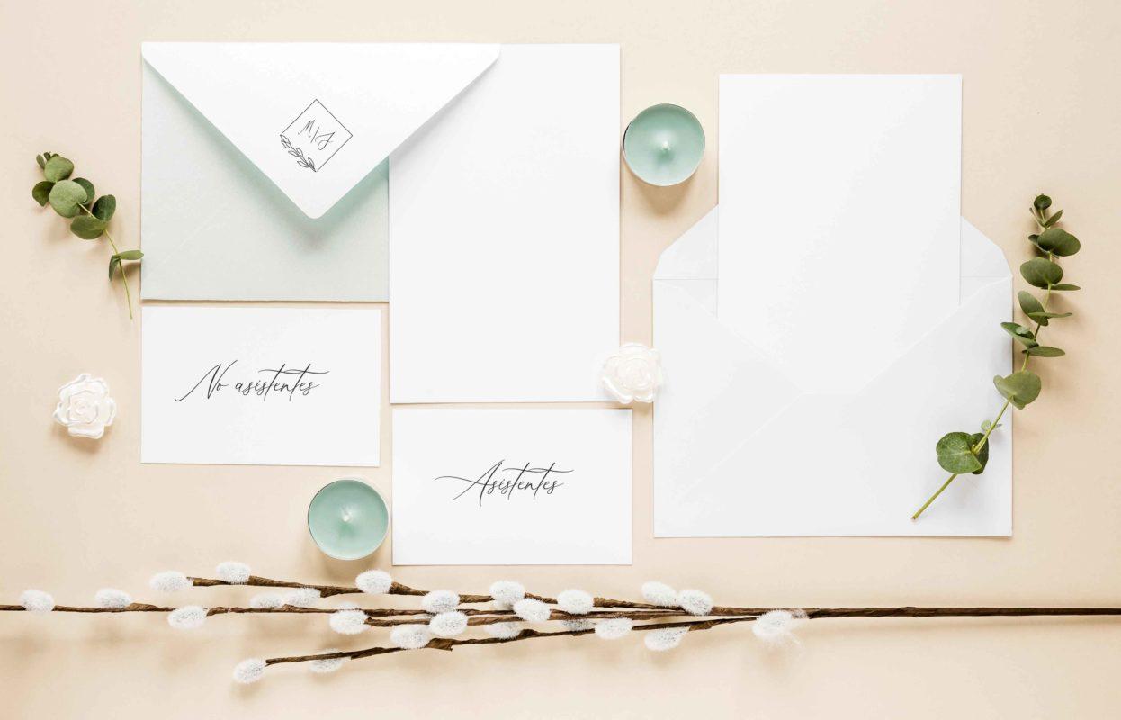Redactar invitaciones boda no asistentes textos de ejemplo Covid-19 - The Sweet Dates Zaragoza