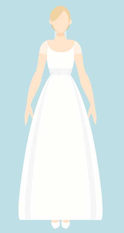 vestido novia silueta reloj arena tipo queda mejor The Sweet Dates
