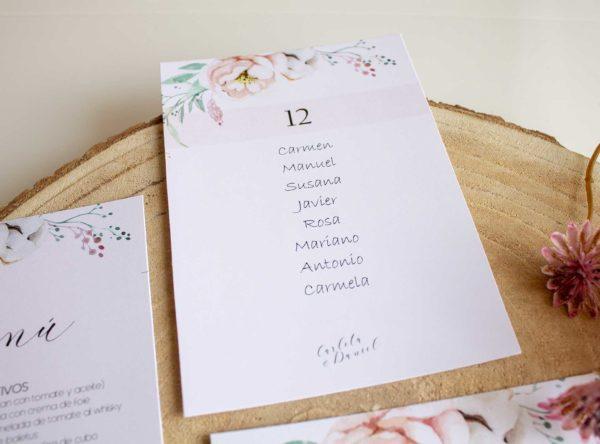 Organizar invitados boda - Seating plan boda - The sweet Dates Zaragoza