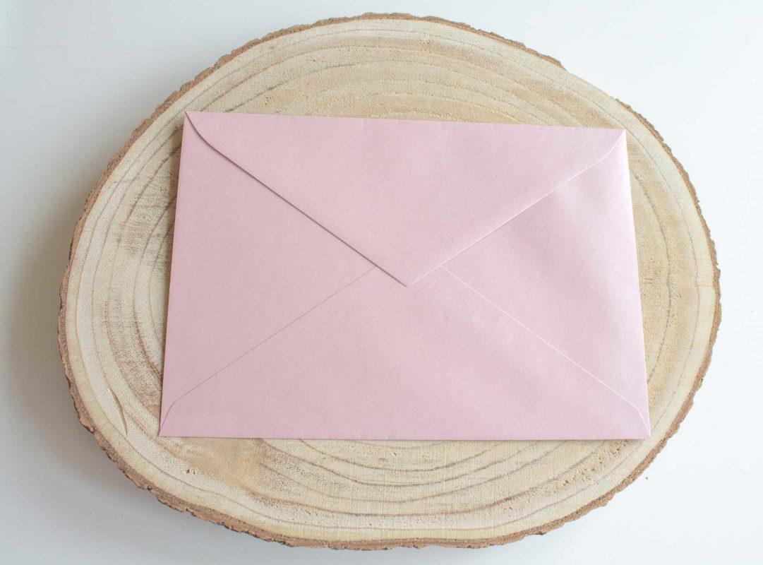 Sobre Rosa Perlado Invitaciones de boda Zaragoza