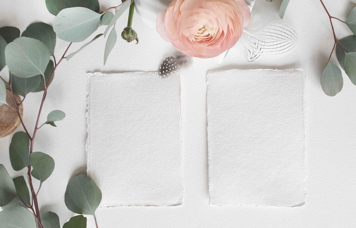 Tipo de papel para diseñar mi invitacion de boda - The Sweet Dates Zaragoza